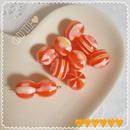 ナツメ オレンジビーズ 【10個】