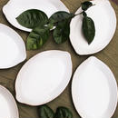 白い檸檬皿