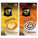カプチーノ 【ヘーゼルナッツ / モカ】セット インスタント  【各12スティック入り/BOX】 TRUNG NGUYEN G7 Cappuccino Hazelnut 【正規輸入品】