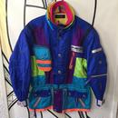 【奇抜】90'sカラフルブルーベーススキージャケット