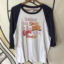 【BIG】70s ポップデザイン ラグランTシャツ
