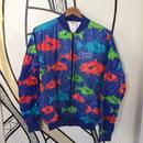 魚総柄ド派手ペーパージャケット