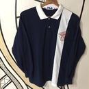【スポーツMIX】90s FILA ロングポロシャツ