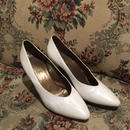 vintage pumps(white)