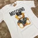 現品限り★ホワイトLサイズ!【即納】ビッグくまTシャツ 2