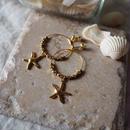 フープピアス starfish / Lagomt