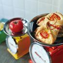 トマトとチーズのトルティーニ