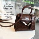 【即納】lp.075クロコパターン2WAYミニフロントベルトバッグ