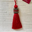 Houles OPALE Key Tassel (Red)