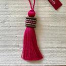 Houles OPALE Key Tassel(pink)