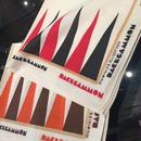 "MODEL: BANDANA / BACKGAMMON  60~70年代 DEADSTOCK BANDANA ""BACKGAMMON"""