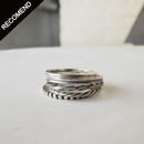 THEFT - narrow dot ring