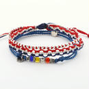 Wakami - 3set anklet /  tricolore