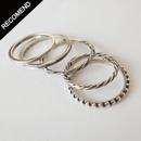 THEFT - narrow reverse round ring