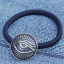 TIME Eyes hair rubber Bracelet(BRASS)
