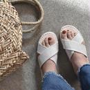 shoes-02008  クロスジュートソールサンダル