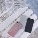iphone-02478 送料無料!スクエアバンパー ラメ キラキラ Phoneケース