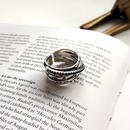 ring2-02033 送料無料! SV925 多重デザインリング  シルバー925