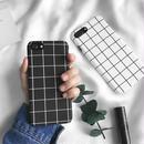 iphone-02022 送料無料! モノクロ グラフチェック柄 ブラック ホワイト 黒白 モノトーン iPhoneケース