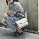 bag2-02251 タイプ2 ハンドル付き 多重ポケットバッグ ショルダーバッグ