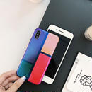 iphone-02481 送料無料!カラー ブロック iPhoneケース