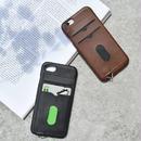 iphone-02440 送料無料! フェイクレザー カード収納付き iPhoneケース