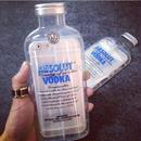 iphone-02047 送料無料! Absolut Vodka ボトル型 クリア iPhoneケース