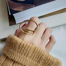 ring2-02037 送料無料! SV925 立体ツイストフープデザインリング シルバー925 ゴールド
