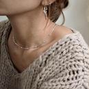 necklace2-02017 送料無料! SV925 シルバーボール&スネークチェーン ネックレス