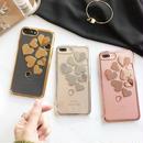 iphone-02308 送料無料! ハートデザイン メタル  iPhoneケース