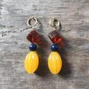 earrings-02043 送料無料!! タイプ43 ハンドメイド 日本製 ボリュームパーツイヤリング ピアスもできます ☆WA04