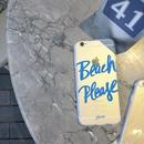 iphone-02138 送料無料! BeachPlease クリアケース iPhoneケース