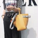 bag2-02240 ツートン 変形バッグ ハンドバッグ ショルダーバッグ