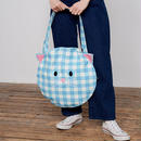 LAZY OAF/CAT GINGHAM BAG
