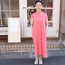 ALWEL(オルウェル) | SHORT SLEEVE SWING DRESS / カラー:ピンク/サイズ:[S] [M]