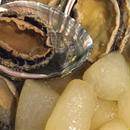 アワビと冬瓜(季節により異なります。)の柔らか煮(Pot-au-fou d'ormeau)(アワビの大きさにより多少価格が前後します。ご了承下さい。)