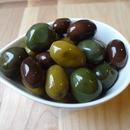 黒とグリーンのオリーブマリネ ( Olive marine ) / 100g