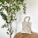 "cotton linen logo tote bag""NOTE"""