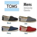 [激安・数量限定]国内当日発送 ☆ TOMS shoes トムス  トムズシューズ メンズ スリッポン シューズ/university-classics