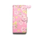 ♡名入れ対応♡手帳型ケース ピンクベースローズ
