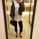 big silhouette blouse
