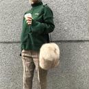 moss green knit