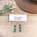 ❁︎ turquoise × shell pierce ❁︎