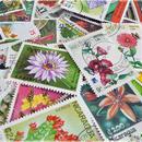 世界のお花 使用済み切手15枚アソート