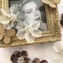 fleur de verre/磨りガラスの花/スワロフスキー