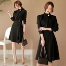 韓国ワンピース 入学式 入園式 フレアスカート 可愛い Aライン タイト スリム FS037501