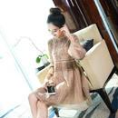 韓国ワンピース 花柄 レース ノースリーブ 五分袖 七分袖 結婚式 パーティードレス 二次会 FS032201