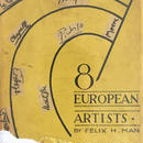 8 EUROPEAN ARTISTS /Felix H MAN