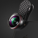 《全商品送料無料》2in1 スマホ用カメラレンズ LQ-046 広角レンズ 0.6X マクロレンズ 15X ハード保護ケース付き 自撮り 集合写真 《メーカー保証12ヶ月》