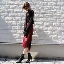 【LR0003】パイソンタイトスカート